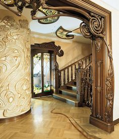 Interior styles Art Nouveau and Art Deco. Discussion on LiveInternet - Russian Service Online Diaries