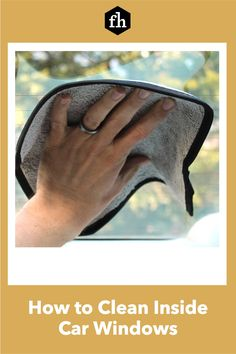 How to Clean Inside Car Windows Car Cleaning, Cleaning Hacks, Window Cleaning Solutions, Inside Car, Perfect Glass, Car Detailing, Car Windows, Automobile, Trucks