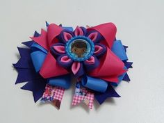 Como hacer moños y flores faciles listón, DIY, Ribbon Hair Bow Tutorial - YouTube