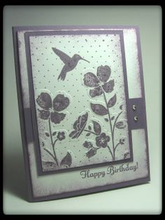 stamping up purple shades, any occasion
