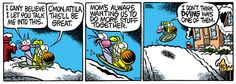 A daily comic strip by Mike Peters, Mother Goose And Grimm / 3. lost during Christmas - 3