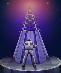 Empire State Building, Behance, Photoshop, Gallery, Travel, Elevator, Space, Viajes, Roof Rack