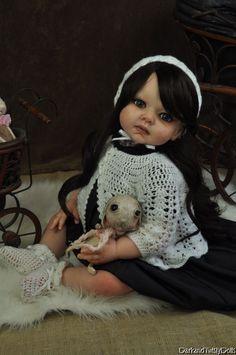 Victorian Twilight Vampire Toddler Reborn Doll