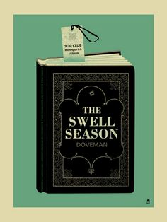 The Swell Season concert poster  at the 9:30 Club- Washington, DC  Nov 9, 2009