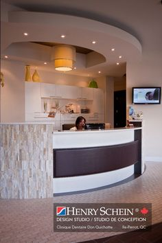 Dental Clinic Office Design Stupendous Images Curved Reception ...