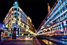 Madrid at Night by Alphonse Bullock