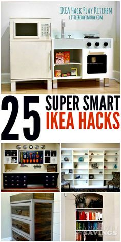 25 Super Smart Ikea Hacks Click through to see some of my favorite Ikea Hacks from around the web! A Mitten Full of Savings