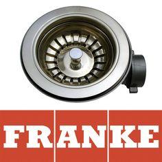 Franke 90mm Polished Steel #Kitchen Sink #Basket #Strainer Waste 112.0036.234