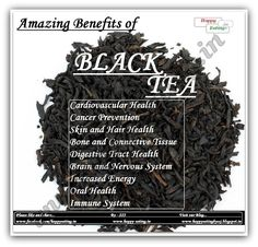 black tea benefits The Health Benefits of Drinking Tea