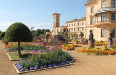 QUEEN VICTORIA AND PRINCE ALBERT'S HOME ON THE ISLE OF WIGHT: OSBORNE HOUSE