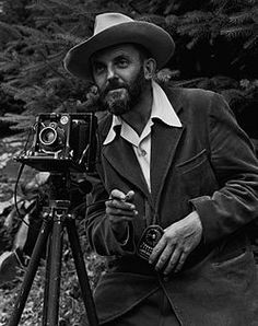 "Ansel Adams - inventor of the so called ""Zone System"" in which both exposure and development are adjusted to the scene at hand. In such a way that a perfect contrast can be achieved. AL."