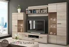 modular furniture for the home - bookcase ideas, bookcase design, bookcase clipart Tv Unit Furniture, Modular Furniture, Living Room Furniture, Furniture Design, Tv Wall Cabinets, Living Room Cabinets, Tv Unit Decor, Tv Wall Decor, Tv Wanddekor