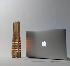 Cypress USB sculpture