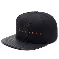 The Hundreds Floradam Strapback Hat (Black) $28.95