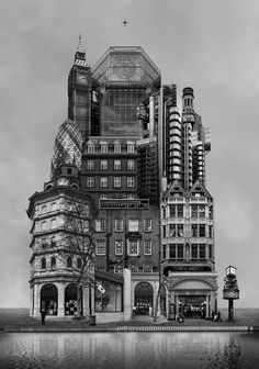 Beomsik Won: Archisculpture 013, 2012 #BlackandWhite #photography www.kidsofdada.com/products/archisculpture-013