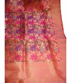 Pink Pure Handloom Banarasi Katan Silk Saree------  Please click here for details            http://luxurionworld.com/banarasi-Sarees-varanasi-pure-silk/LWBSS492_Pink_Pure_Handloom_Banarasi_Katan_Silk_Saree.html