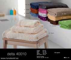Juego toallas primavera 2012  http://www.lunatextil.es/24_ihome