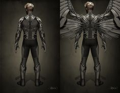x men apocalypse archangel - Google Search