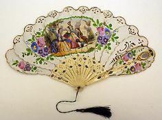 Fan 1860s American or European