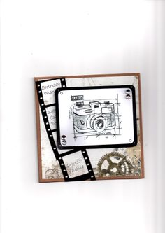 Tim Holtz Blueprint camera