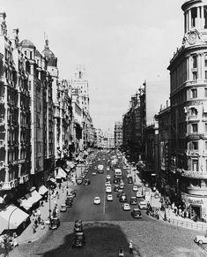 21 fotografías históricas para que veas que Madrid ya no es lo que era