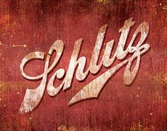 Items similar to Schlitz Vintage Beer Sign - Officially Signed, Dated and Hand-Stamped Art Print on Etsy Vintage Beer Signs, Schlitz Beer, Beers Of The World, Beer Company, Beer Label, Diy Signs, The Good Old Days, Lettering Design, Vintage Advertisements