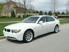 BMW 745Li Mine was silver but couldn't find a pic in silver