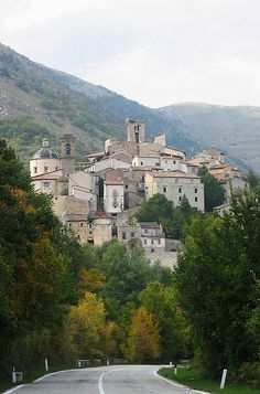 Cocullo is charming town in the Abruzzi region of Italy