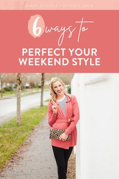 Hello Gorgeous! Today, let's talk about your weekend style! While weekend outfits are usually more casual than what you'd wear to work, that doesn't mean you can't still look amazing! Here are my six tips for simple casual women's style for the weekend! You'll love them! #whattowear #weekendstyle #styletips #weekendlooks