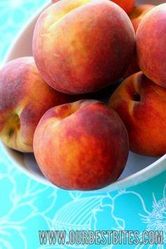 Tutorial: How to Peel Peaches