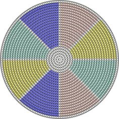 """The location where building and construction meets style, beaded crochet is the act of using beads to decorate crocheted products. """"Crochet"""" is derived fro Crochet Cross, Crochet Chart, Crochet Home, Bead Crochet, Tapestry Crochet Patterns, Crochet Stitches Patterns, Crochet Designs, Wiggly Crochet, Mochila Crochet"""