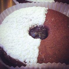 Occhio di bue al #cioccolato con #marmellata di #visciole