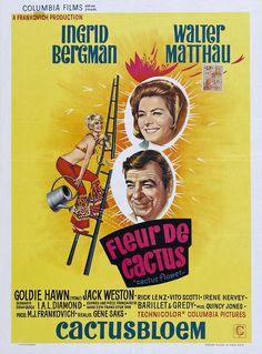 Cactus Flower (Gene Saks, 1969) - French poster