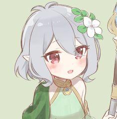 Kawaii Anime Girl, Anime Art Girl, Anime Girls, Kawaii Drawings, Cute Drawings, Chibi, Cherry Blossom Painting, Village Girl, Anime Oc