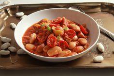 Receta de Fabada con Tomates Cherry