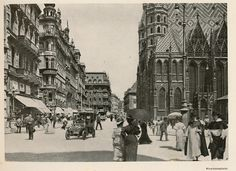 Wien.. Stephansplatz.. 1900