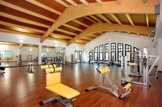 ¿Un hotel con gimnasio? Sí, Castilla Termal Balneario de Solares. // A hotel with a gym? Yes, Castilla Termal Balneario de Solares. #hotel #exercise #Cantabria