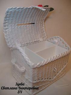 Фотографии Светланы Зуевой Brooms And Brushes, Newspaper Basket, Wicker, Diy And Crafts, Weaving, Chair, Creative, Handmade, Furniture