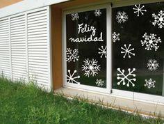 Decora tus ventanas en Navidad - Navidad