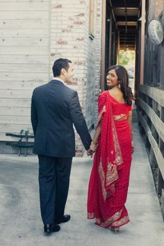 Sumana and Adam's Colorful Multicultural Wedding on Style Me Pretty