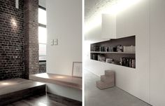 Jacques Van Haren - Loft Victoria Complete transformation of an Old Chocolate factory Brussels     Belgium