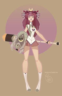 Character Design - Cancer by MeoMai.deviantart.com on @DeviantArt