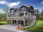 Lakefront House Plan ID: chp-39301 - COOLhouseplans.com