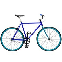 Fixed-Gear / Single-Speed Bike with BMX Handlebars