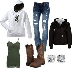 """""""Bon Fires and Good Times"""" by emily-15 on Polyvore"""