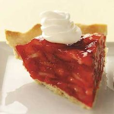 Makeover Grandma's Strawberry Pie Recipe -Shannon Chabes of Portage, Indiana wanted a lighter version of her grandma's classic summer pie. Our Test Kitchen came up with this one that offers all the flavor of the original but a fourth less fat and 152 fewer calories per slice. How sweet is that?