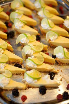 Key lime pie wedding reception. Italian jewelry for your wedding day at TreborStyle.com