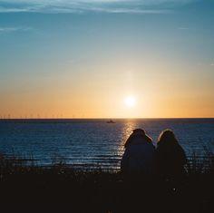 #sonnenuntergang #gutenacht #holland #egmondaanzee #nordsee #strand #dühne #genießen
