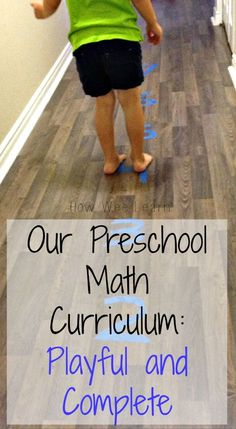 Our FREE Playful Preschool Math Curriculum! Focusing on 6 main areas of numeracy development for preschoolers with fun hands-on and playful activities! How Wee Learn
