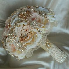 Wedding Bouquet Beautiful Classy wedding bouquet custom made. Mon Atelier Other